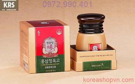 Cao hồng sâm mật ong KGC 500g