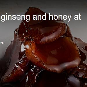 Hồng sâm mật ong