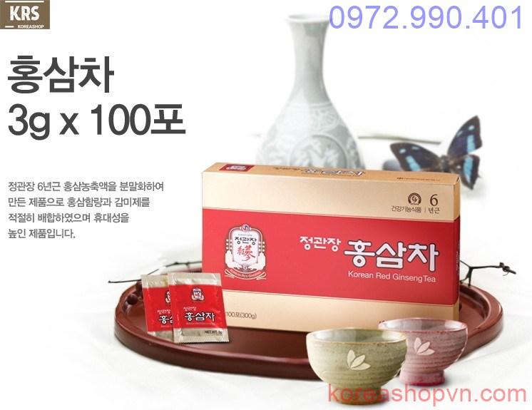 Trà hồng sâm Hàn Quốc KGC