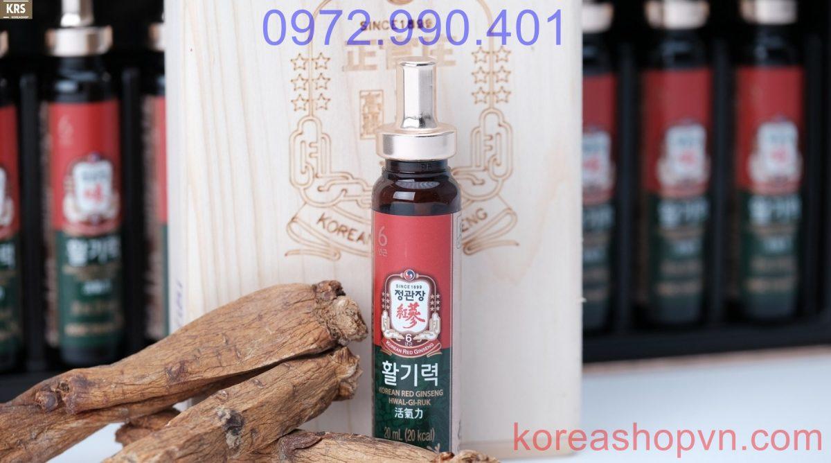 Nước hồng sâm Hwai Gi Ruk Hàn Quốc KGC