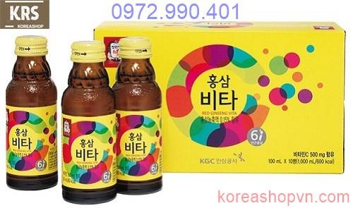 Nước hồng sâm vita vitamin kgc