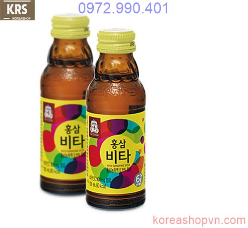 Nước hồng sâm vitamin Cheong Kwan Jang