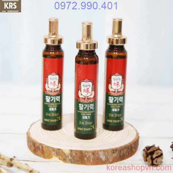 Nước uống hồng sâm Hwal Gi Ruk chính hãng KGC giá rẻ