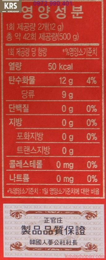Mua kẹo sâm Hàn Quốc ở đâu?